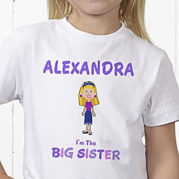 Sister Character Personalized Hanes® Youth T-Shirt