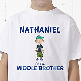 Brother Character Personalized Hanes® Youth T-Shirt