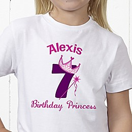 Birthday Princess Personalized Hanes® Youth T-Shirt