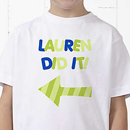 They Did It! Personalized Hanes® Youth T-Shirt