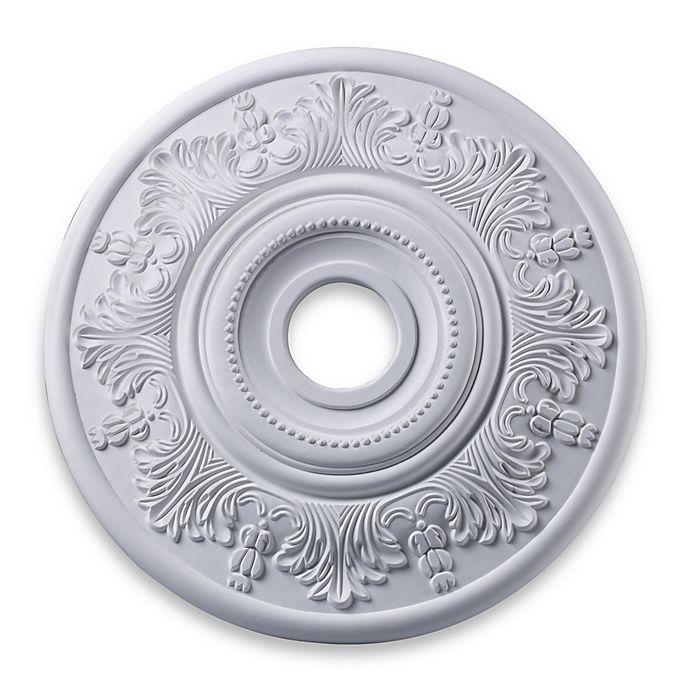 Alternate image 1 for ELK Lighting Laureldale 21-Inch Ceiling Medallion in White