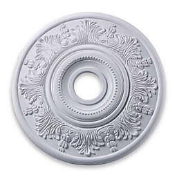 ELK Lighting Laureldale 21-Inch Ceiling Medallion in White