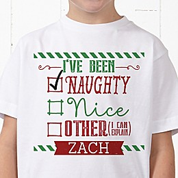 I Can Explain Personalized Christmas Hanes® Youth T-Shirt