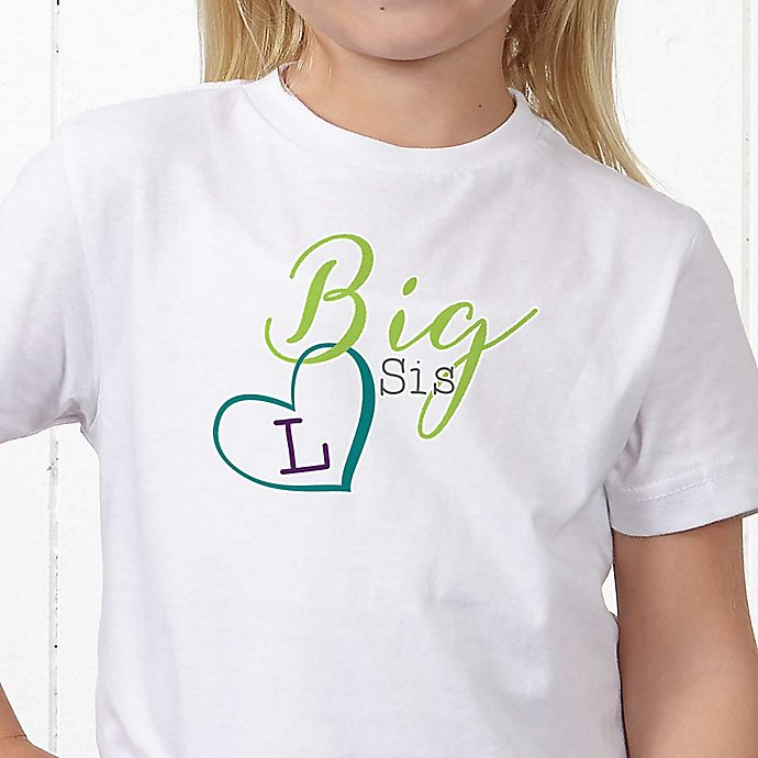 Alternate image 1 for Big/Mid/Lil Sibling Personalized Hanes® Youth T-Shirt