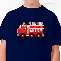 Jr. Firefighter Personalized Hanes® Youth T-Shirt