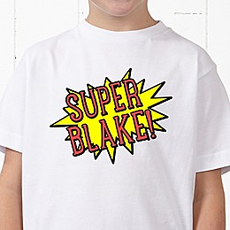 Super Hero Personalized Hanes® Youth T-Shirt