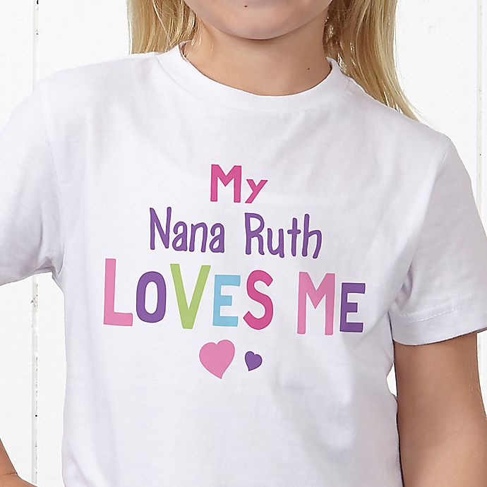 Alternate image 1 for You Are Loved Personalized Hanes® Youth T-Shirt