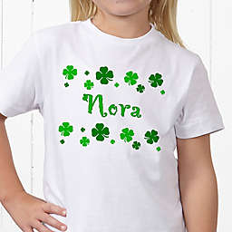 Lucky Clover Personalized Hanes® Youth T-Shirt