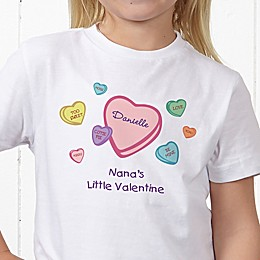 Little Valentine Personalized Hanes® Youth T-Shirt
