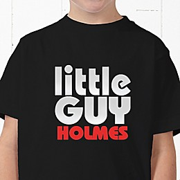 Little Guy Personalized Hanes® Youth T-Shirt