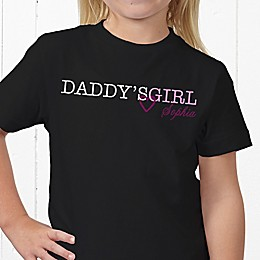 Daddy's Girl Personalized Hanes® Youth T-Shirt