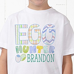 Egg Hunter Personalized Hanes® Youth T-Shirt