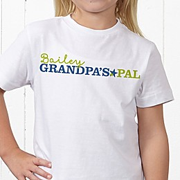 Grandpa's Favorite Personalized Hanes® Youth T-Shirt