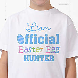 Official Egg Hunter Personalized Hanes® Youth T-Shirt