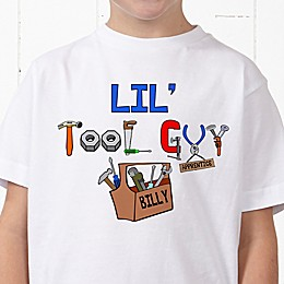 Lil Tool Guy Personalized Hanes® Youth T-Shirt