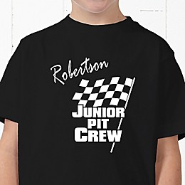 Pit Crew Personalized Hanes® Youth T-Shirt