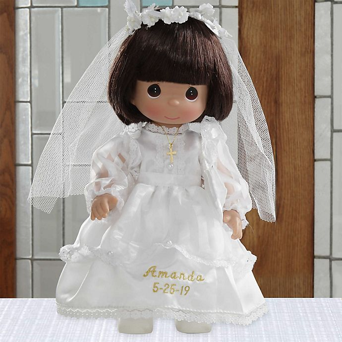 Alternate image 1 for Precious Moments® Personalized Communion Doll