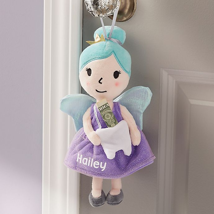 Alternate image 1 for Sweet Dreams Personalized Tooth Fairy Pillow
