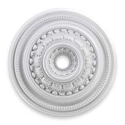ELK Lighting English Study 32-Inch Ceiling Medallion in White