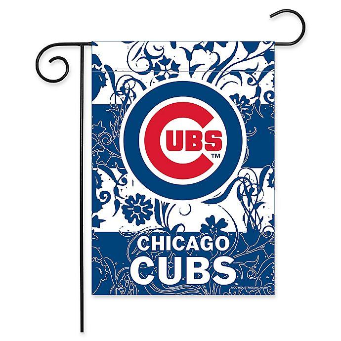 Alternate image 1 for MLB Chicago Cubs Garden Flag