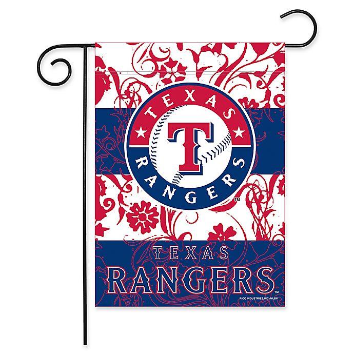 Alternate image 1 for MLB Texas Rangers Garden Flag