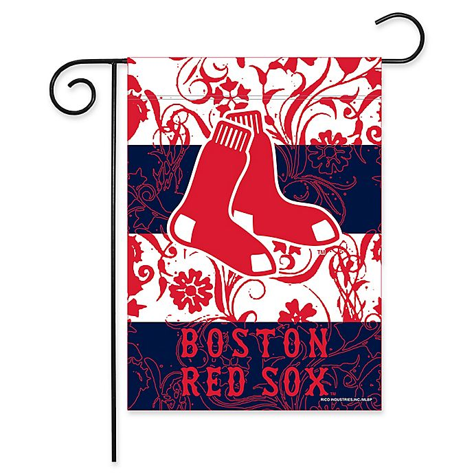 Alternate image 1 for MLB Boston Red Sox Garden Flag