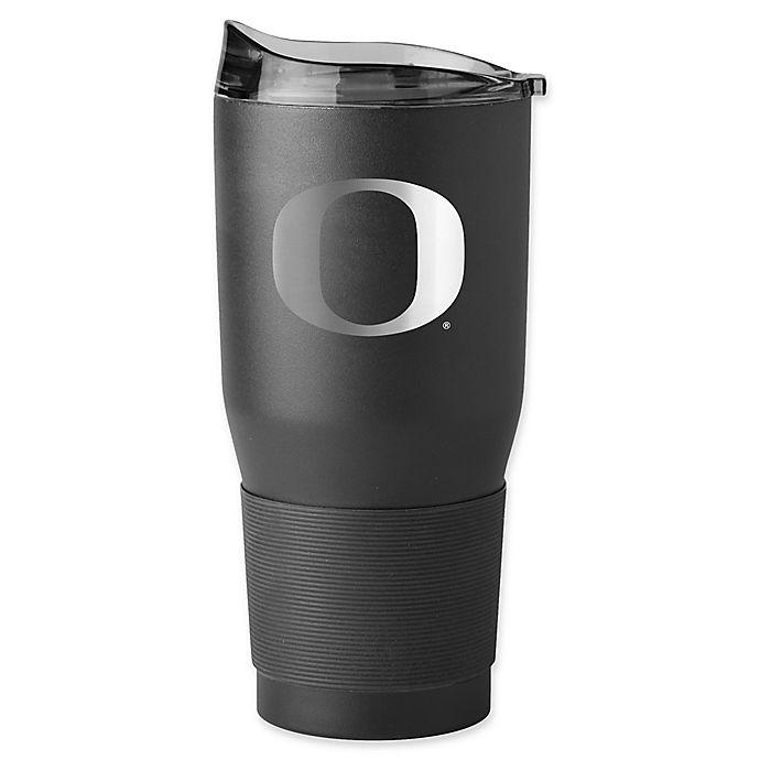 Alternate image 1 for University of Oregon 30 oz. Premium Powder Coated Ultra Tumbler