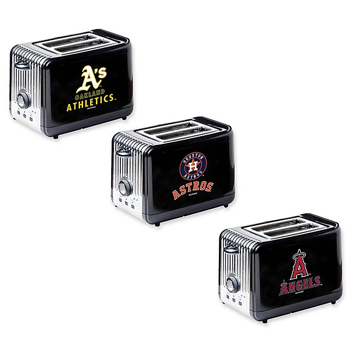 Alternate image 1 for MLB 2-Slice Toaster Collection