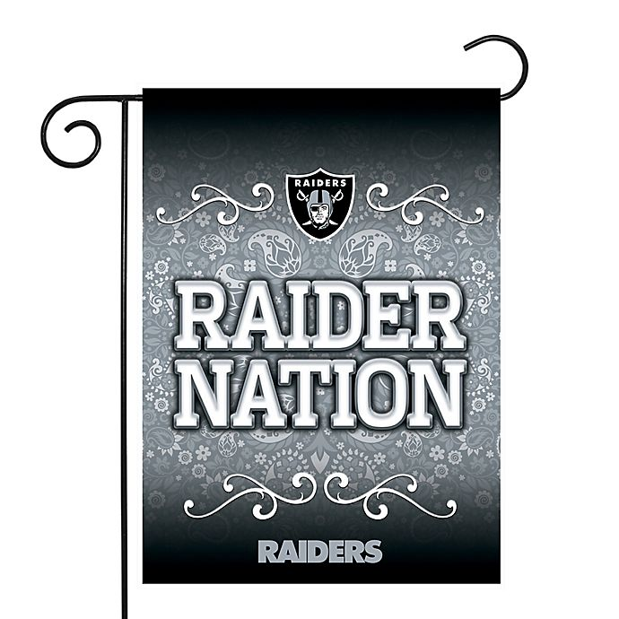 Nfl Las Vegas Raiders Garden Flag Bed Bath Beyond