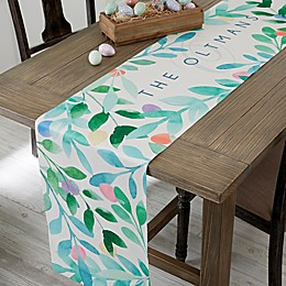Easter Egg Personalized Table Runner