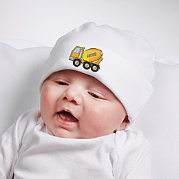 Construction Trucks Personalized Hat