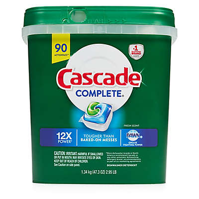 Cascade® Complete™ 85-Count ActionPacs™ Dishwasher Detergent in Fresh Scent