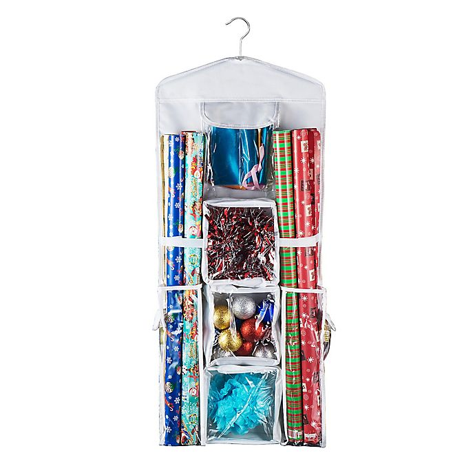 Alternate image 1 for Deluxe Hanging Gift Wrap and Bag