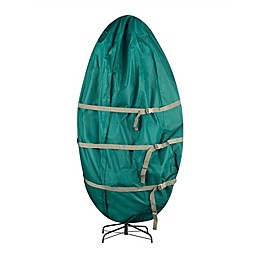 Canvas Stand Artificial Christmas Tree Storage Bag in Green