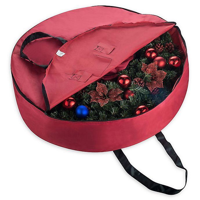 36-Inch Artificial Christmas Wreath Storage Bag | Bed Bath ...