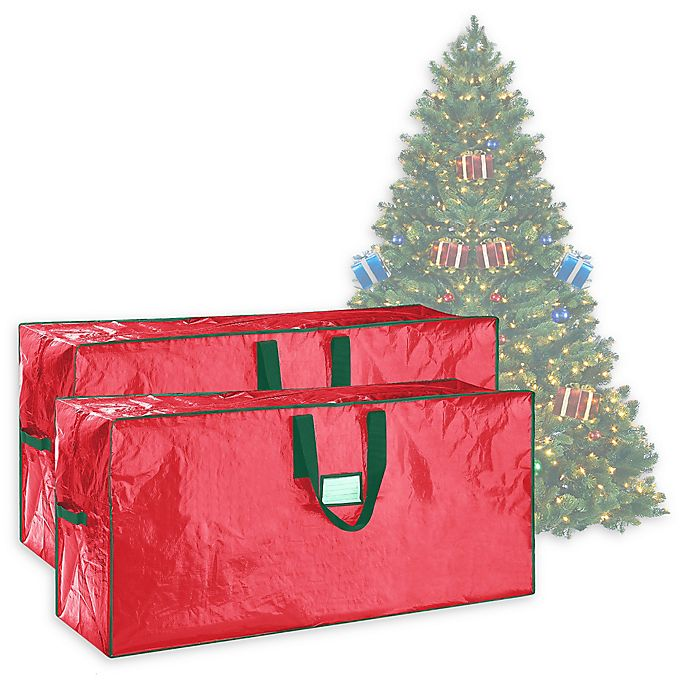 Elf Stor 7 5 Foot Artificial Christmas Tree Storage Bags Set Of 2