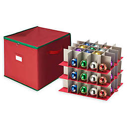 Tiny Tim Totes 75-Count Ornament Storage Chest