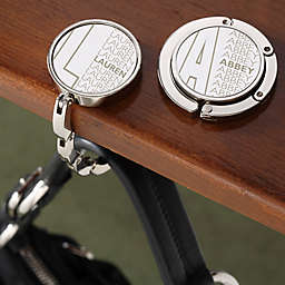 Beautiful Reflections Engraved Purse Hanger