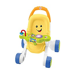 Fisher-Price® Stroll & Learn Walker in Yellow