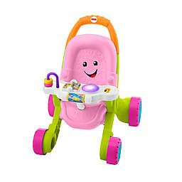 Fisher-Price® Stroll & Learn Walker in Pink