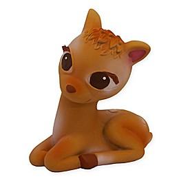 Olive the Deer Teether in Brown