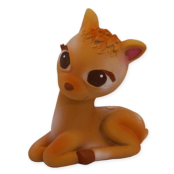 Alternate image 1 for Olive the Deer Teether in Brown