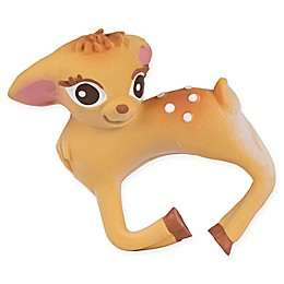 Olive the Deer Chewable Teether Bracelet in Brown
