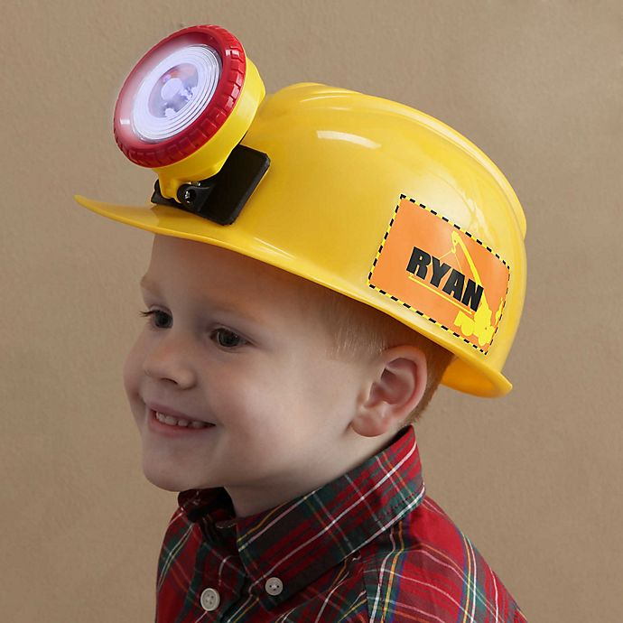 Alternate image 1 for Construction Crew Personalized Kid's Hat