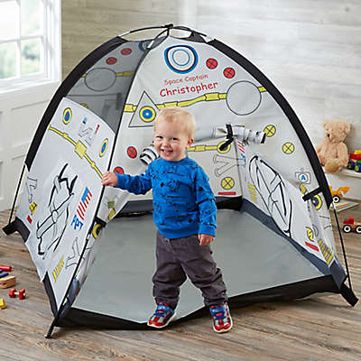 Blast Off! Personalized Kids Space Play Tent