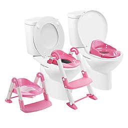 Squat-N-Go® Babyloo Bambino Booster 3-in-1 Potty Trainer in Pink