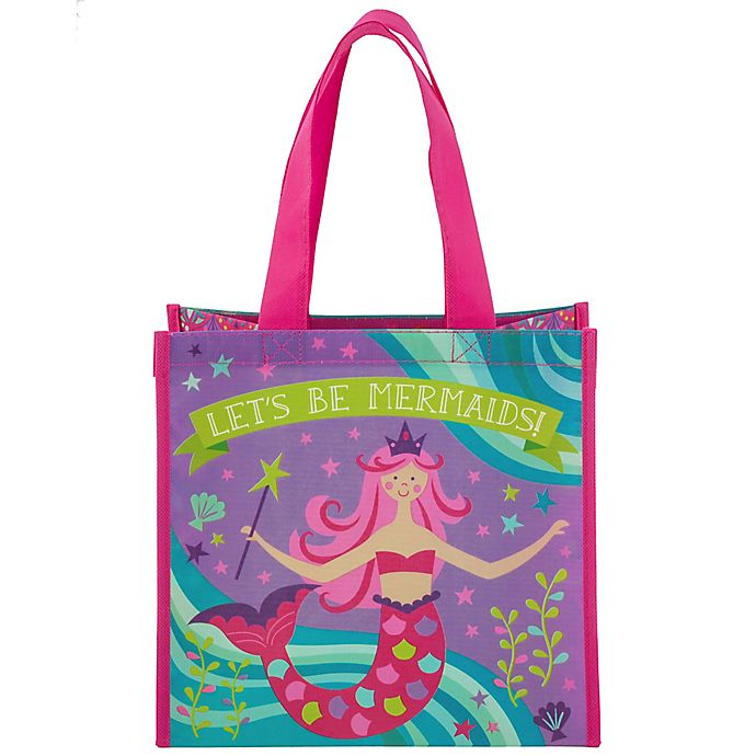 Alternate image 1 for Stephen Joseph® Mermaid Resuable Gift Bag