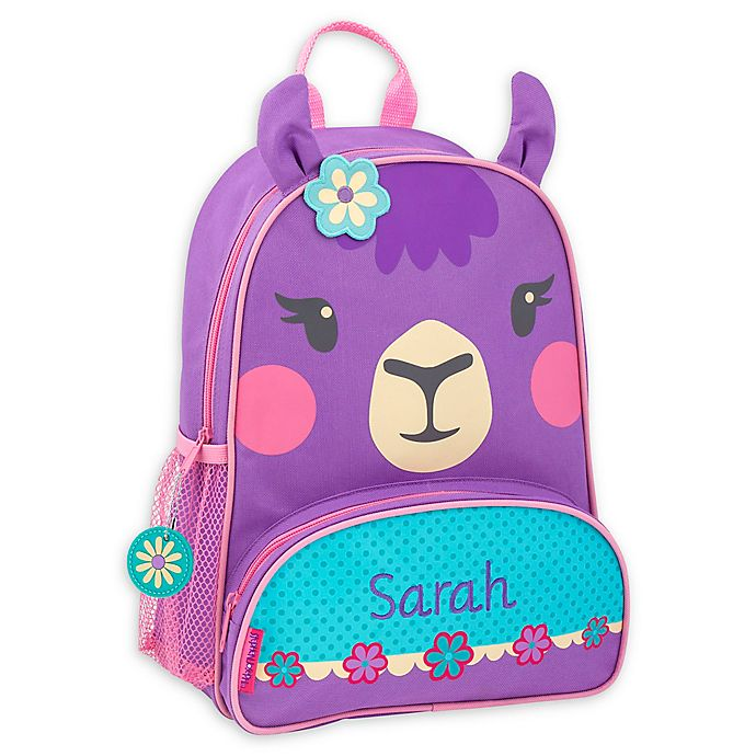 Alternate image 1 for Stephen Joseph® Llama Name Sidekick Backpack in Purple