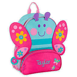 Stephen Joseph® Butterfly Name Sidekick Backpack in Blue