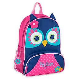 Stephen Joseph® Owl Name Sidekick Backpack in Navy